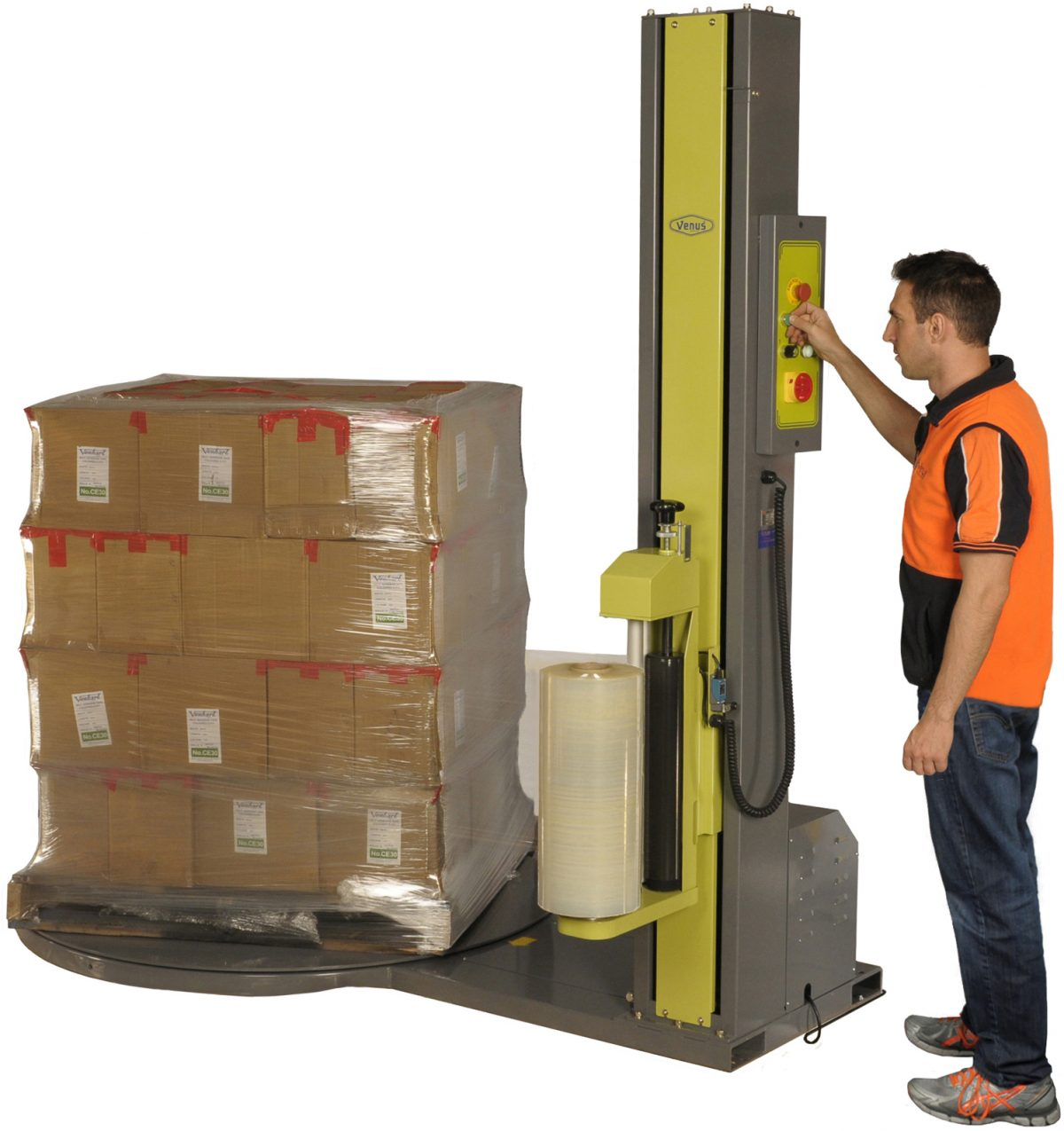 How A Pallet Wrapper Can Decrease Potential Health & Safety Issues
