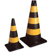 safety-cones-yellow-and-black