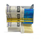 self adhesive label dispener vh 13105 loaded wall mounted
