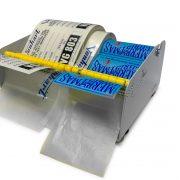 self adhesive label dispenser vh 13105 loaded front