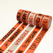 77p-pvc-fragile tape top loading handle with care printed-unrolled