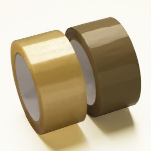 Clear, Brown & White Packaging Tapes